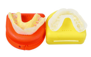Dental Mouthguard in Case